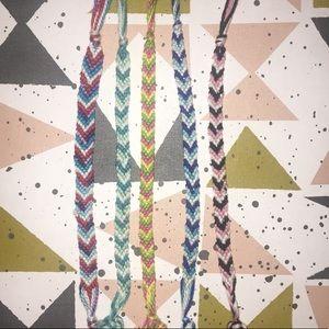 Jewelry - CUSTOM Chevron Friendship Bracelet *read descrip.*